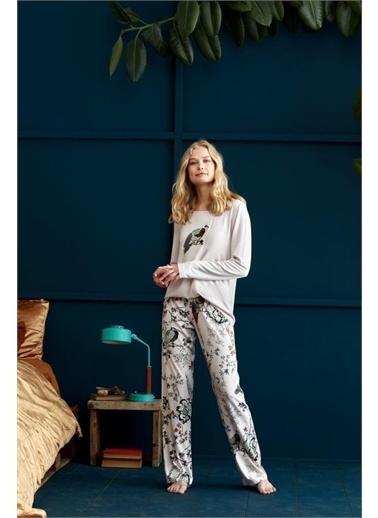 Penye Mood 8920 Pijama Takım Pembe